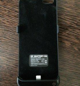 Чехол-зарядка на айфон 5s