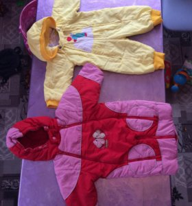 Два пакета детских вещей