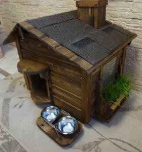 Дом для кошки (будка для собак мелких пород)