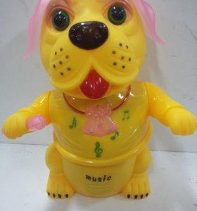 Собачка-певец музыкальная игрушка
