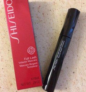 Тушь Shiseido новая