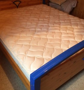 Продам кровать икеа с матрасом аскона