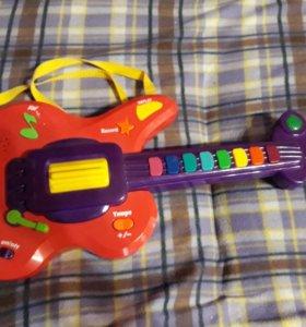 Гитара игрушка