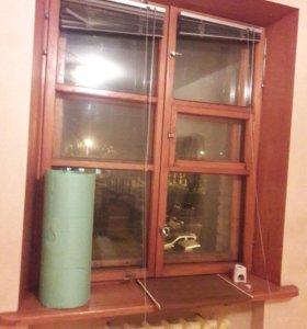 Окна 2 шт деревянные