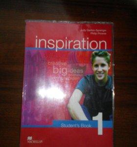Учебник по английскому inspiration 1