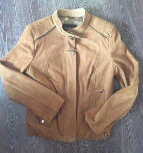 Кожаная куртка SANSAR
