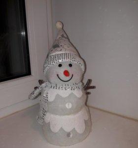 украшение Снеговик
