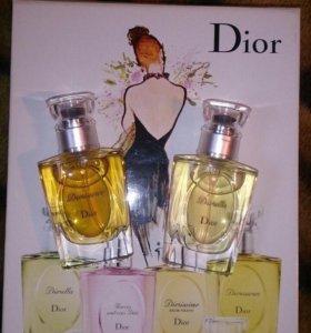 Dior миниатюры из дутифри