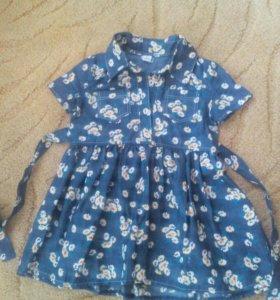 Платье 3-4г