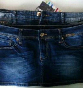 Джинсовые юбки, шорты