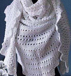 #хендмейд #вязаный #платок бактус шарф палантин