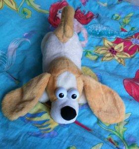 Собачка - хахатун игрушка