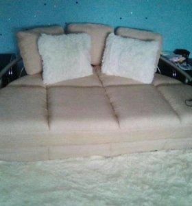 Крутой нюдовый диван ikea