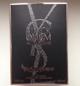 Парфюм Yves Saint Laurent BLACK OPIUM nuit blanche