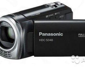Видеокамера Panasonic HDC-SD40 c гарантией