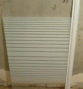 штора для ванной высота 130 см, ширина 80 см