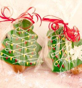 Набор 9, новогодний подарок, имбирные пряники