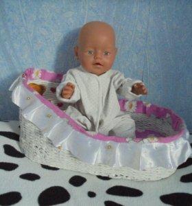 Кроватка для куклы.