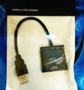 Новый адаптер HDMI к VGA для монитора
