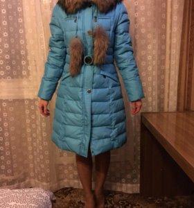 Новый зимний пуховик 44 размер