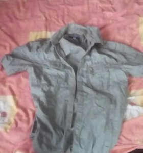 Рубашка с короткими рукавами от celio