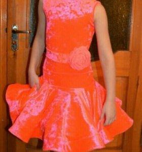 Платья спортивные бальные танцы