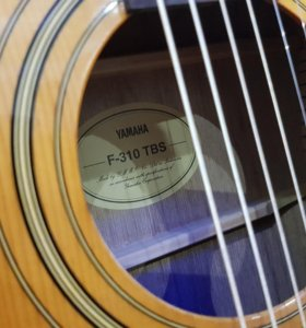 Гитара Yamaha F-310 TBS + чехол.