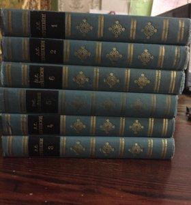 Пушкин 6 томов 1969г