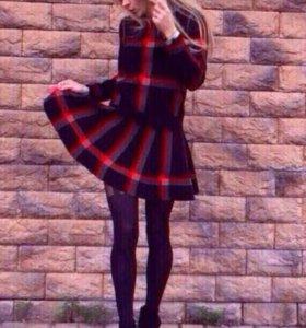 Костюм теплый юбка и кофта