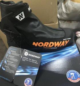 Мужские ботинки для беговых лыж