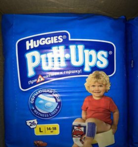 Трусики Huggies Pull-Ups для мальчиков 14-18 кг 26