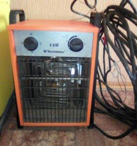 Теплопушка электрическая.