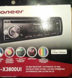 Магнитола Pioneer DEH-X3800UI