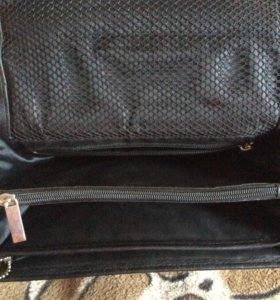 Мужская кожаная сумка (лихая)