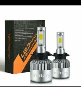 12 В фар автомобиля LED H7