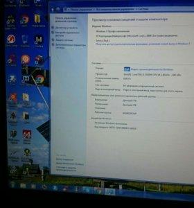 Игровой Acer i5, монитор 17.3