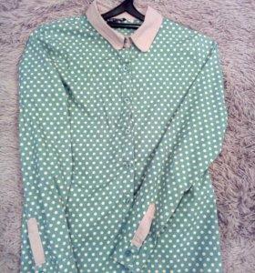 Рубашка в горошек