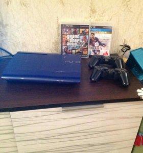 Sony playstation 3 500gb +gta v+fifa
