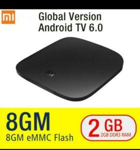 Тv box XiaoMi Ми Box 3 глобальной версии Android 6