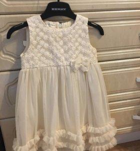 Нарядное итальянское платье