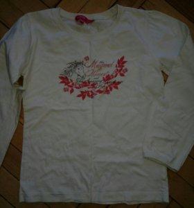 2 футболки длинный рукав