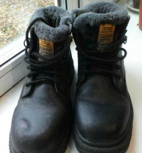 Ботинки зимние р.38,натуральный мех и кожа