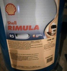 Моторное масло 10w40 18 литров