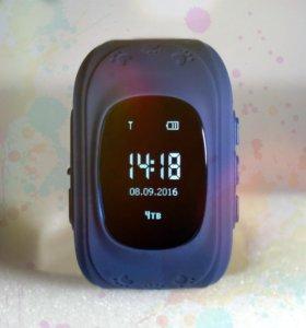 Детские часы с gps Q50 от Wonlex (синие)