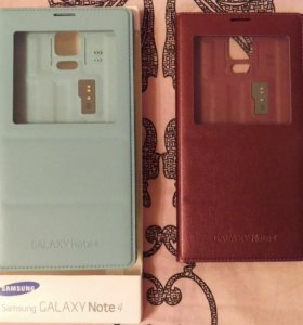 Чехол S View Cower Samsung Galaxy Note4