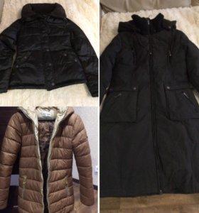 Зимние куртки 42-44 размер