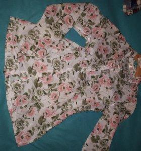 Блузка рубашка хб