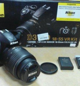 Зеркальный фотоаппарат Nikon D3100 kit 18-55
