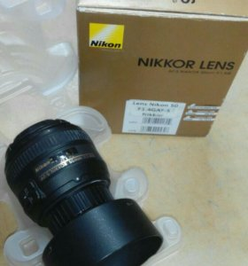 Объектив для зеркалки Nikkor 50mm f/1.4G af-s