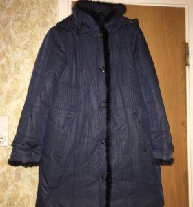 Женское пальто пуховик